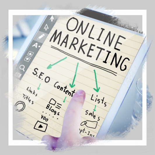 Cyber Marketing; SEO, Ditigal Marketing, Online Shop